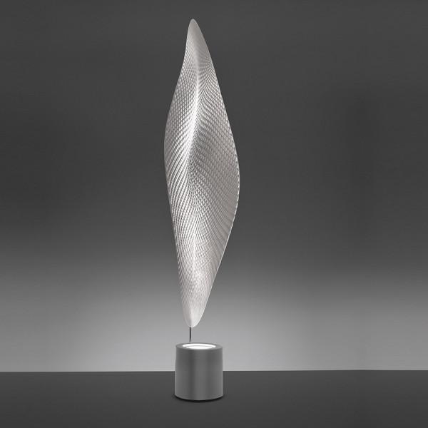 Cosmic Leaf Floor lamp diffuser in transparent methacrylate 100W G53