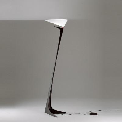 Montjuic Floor lamp white opaline