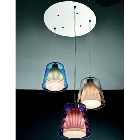 SP Jolly 3 G Suspension lamp acrylic diffuser 42W E27