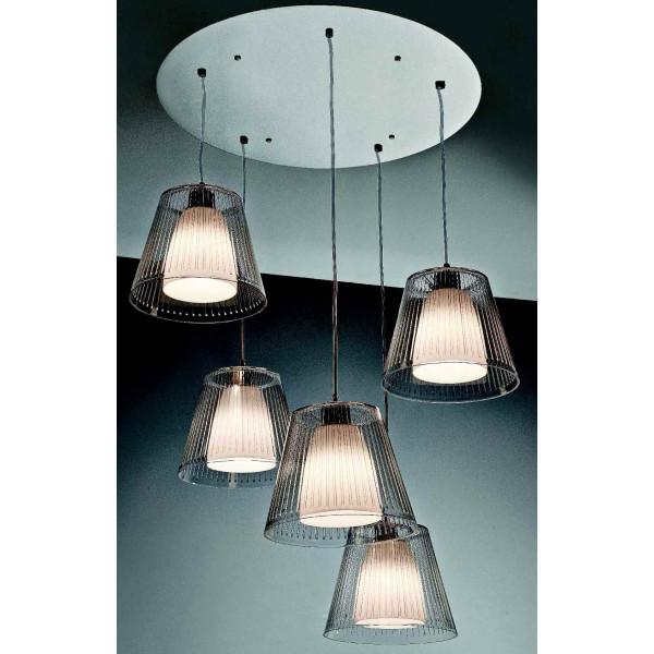 SP Jolly 5 G Suspension lamp acrylic diffuser 42W E27