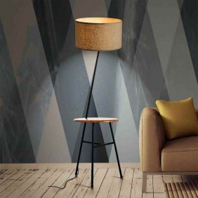 Comoda Floor lamp wooden...