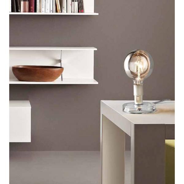 Bugia Table lamp transparent acrylic base 4W E27