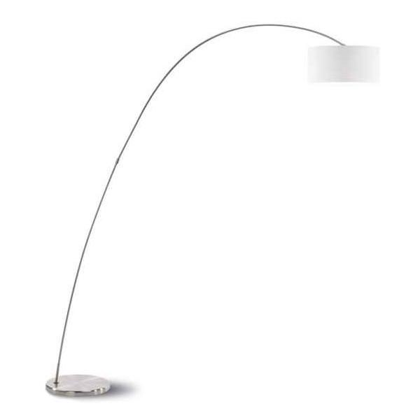 Bow Floor lamp fabric shade