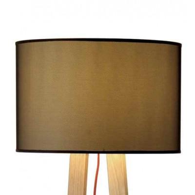 Lampadaire Maiko structure bois et