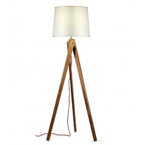 Zaria Floor lamp wooden...