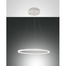 Giotto Suspension lamp metal frame and
