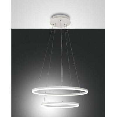 Lampe à suspension double...