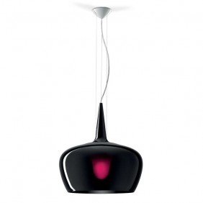 Witch black Leucos Suspension lamp in