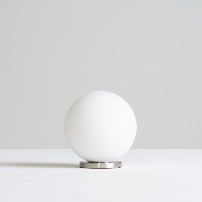 Lampada Da Tavolo Fontana Arte Pallina