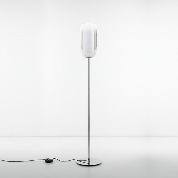 Gople Floor lamp in blown glass 21W E27