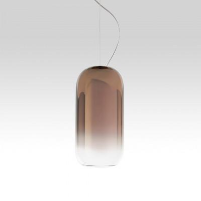 Gople Suspension lamp in blown glass 21W