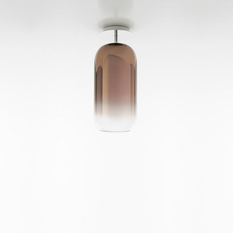 Gople Mini Ceiling lamp in blown glass