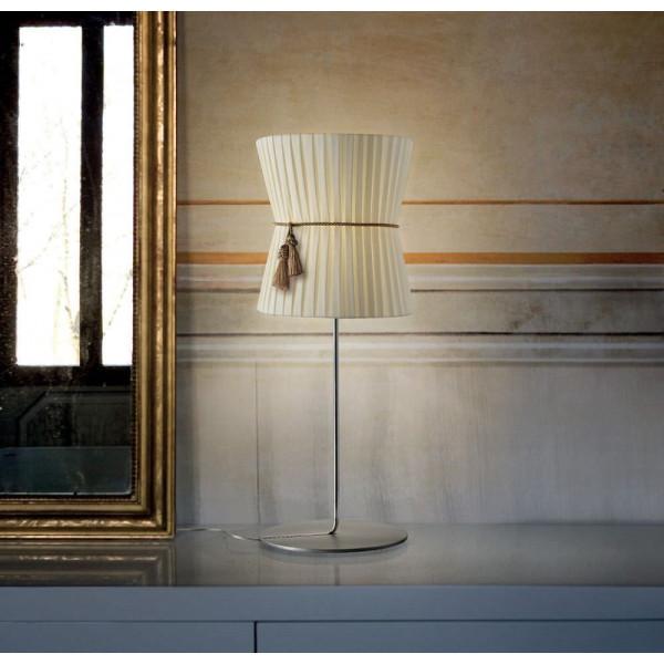 Diffuseur de lampe de table Caracas LT 1/500 en tissu 46W E27