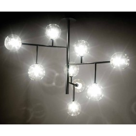 PL Bolle 9 Ceiling lamp...