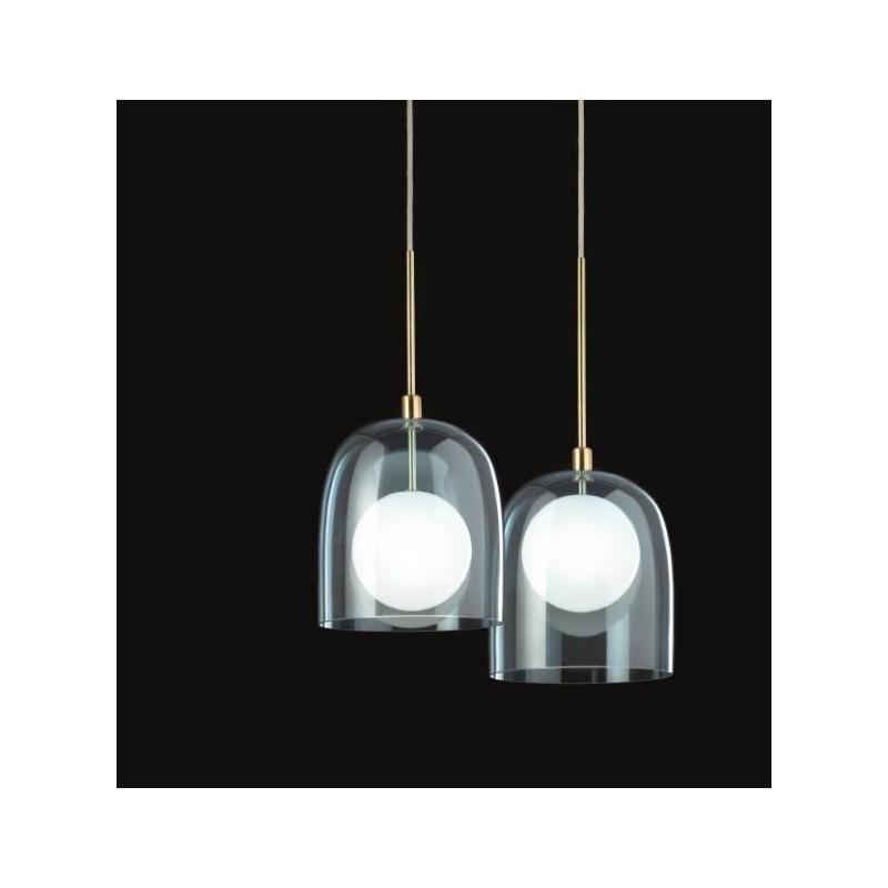 Ghost S23 Suspension lamp glass diffuser