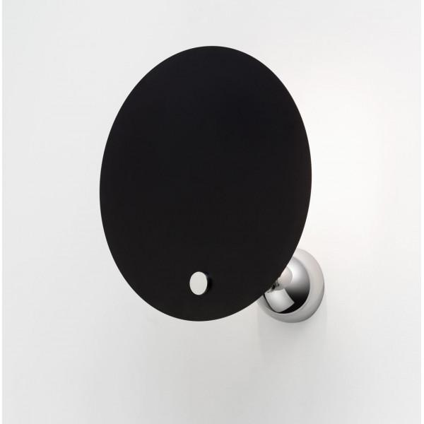 Kuta lampada da parete riflettore circolare in alluminio 100W E27