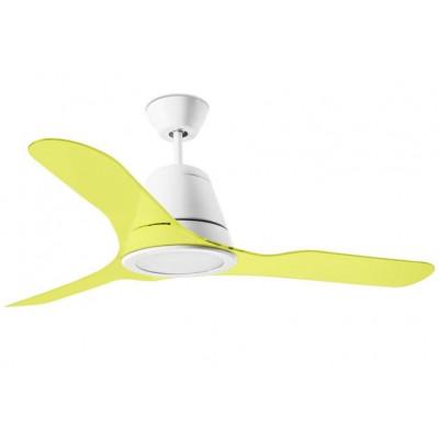 Tiga Ceiling fan acrylic blades Led