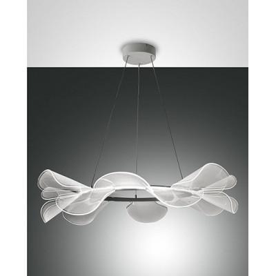 Lampe à suspension ronde...