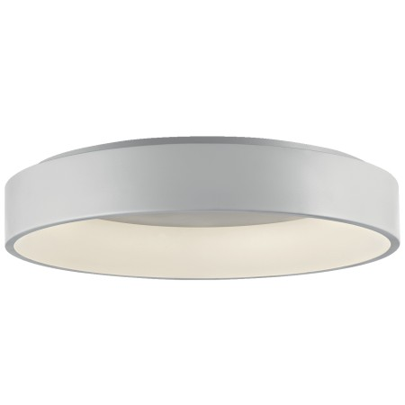 Hoop Large Ceiling lamp in painted aluminium with PMMA shade Led 62W 3000K