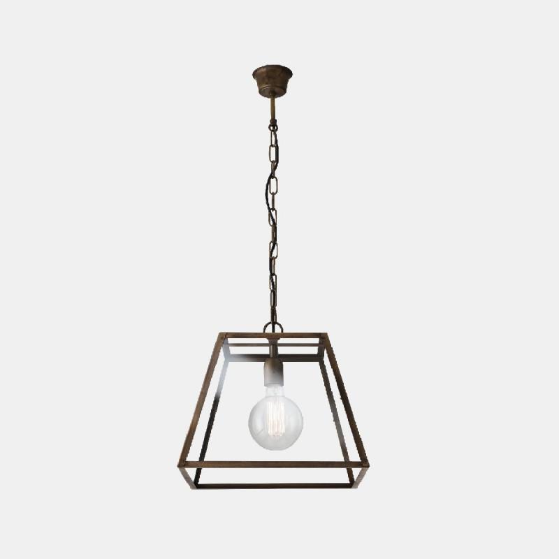 London Lampe à suspension triangulaire