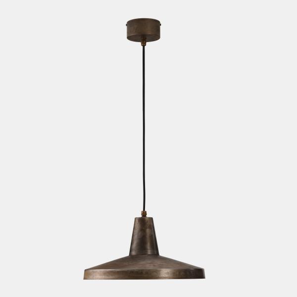 Officina Grande Lampe à suspension à 1 lumière en fer 77W E27