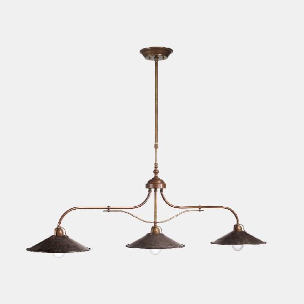 Lampe à suspension Poggio 3 lumières 77W E27