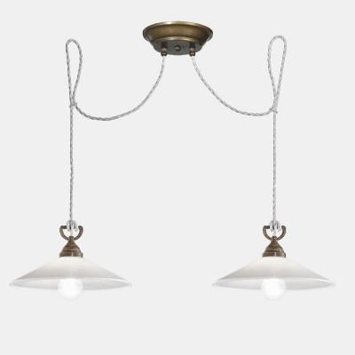 Tabià 2 luci lampada a...