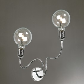 Flexi Nudo Cromo 2 lights...