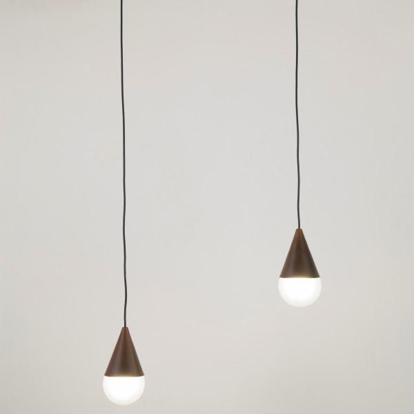 Lampe à suspension à 1 lumière système Goccia E27