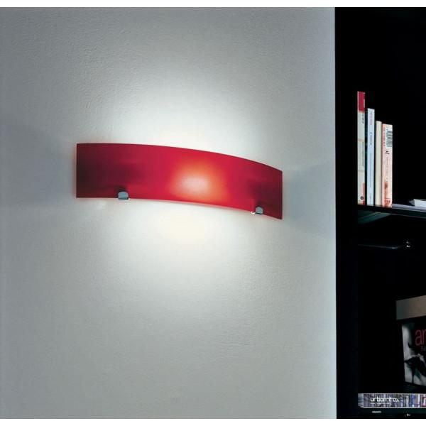 Torino LP 6/234 A lampada da parete diffusore in vetro 80W R7s