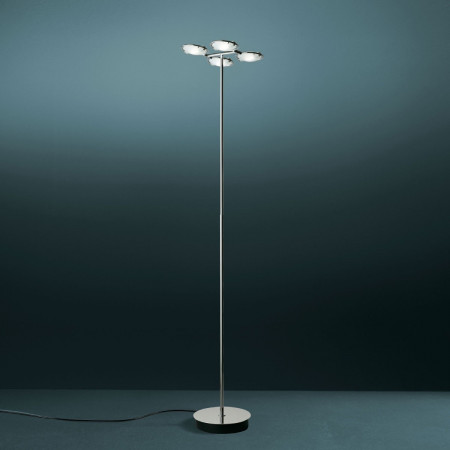 Nobi 4 Floor lamp frosted glass diffusers 120W R7s