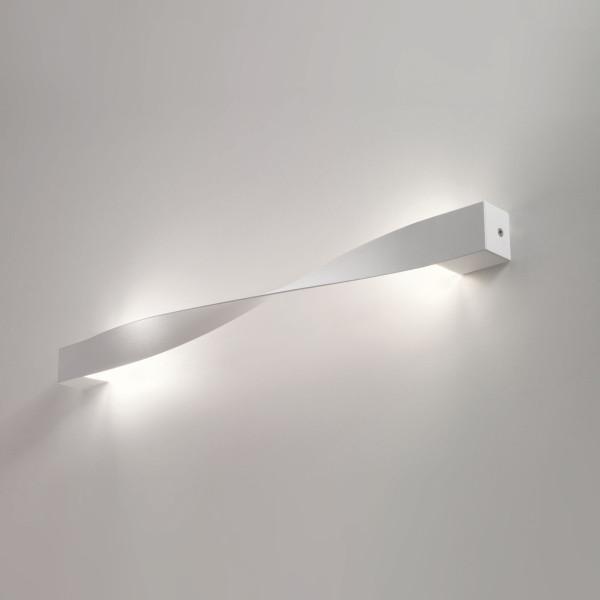 AP Alrisha Wall lamp in aluminum white finish Led 3W