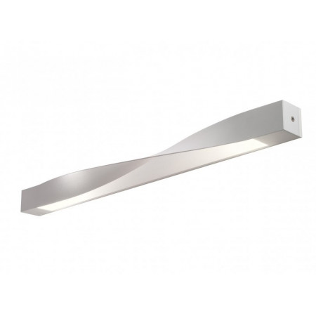 AP Alrisha with wall mounting box Wall lamp in aluminum white finish Led 3W