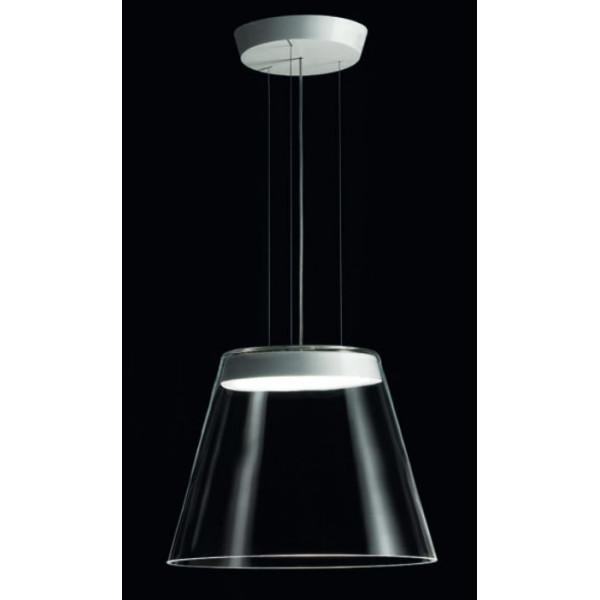 Diaphanès S45 lampada a sospensione vetro in cristallo trasparente