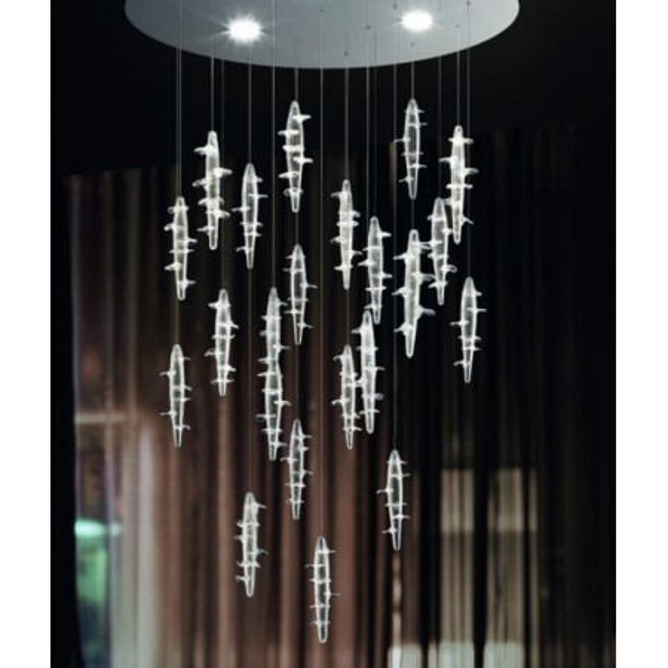 Micos Lightdrops 80 Lampe à Suspension Led 13W 3000K