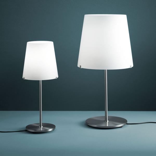 Diffuseur de lampe de table 3247TA en verre soufflé blanc satiné