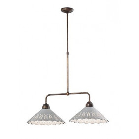 Il Fanale,Suspension, FIORI DI PIZZO SUSPENSION 2 LIGHTS