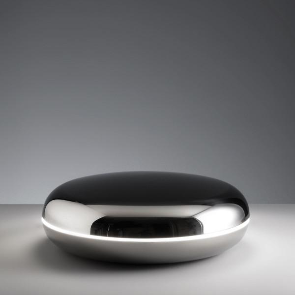 Loop lampada da tavolo struttura in acciaio inossidabile 40W 2GX13