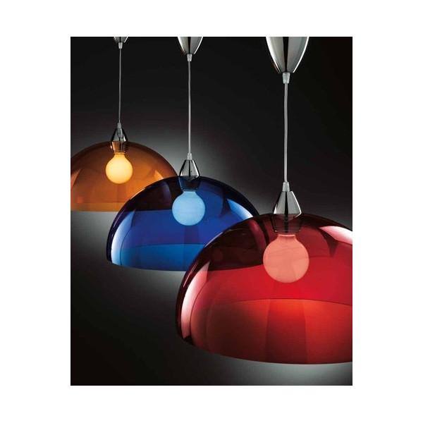 Blob SP 1019/47 Lampe à suspension Diffuseur en plexiglas 77W E27