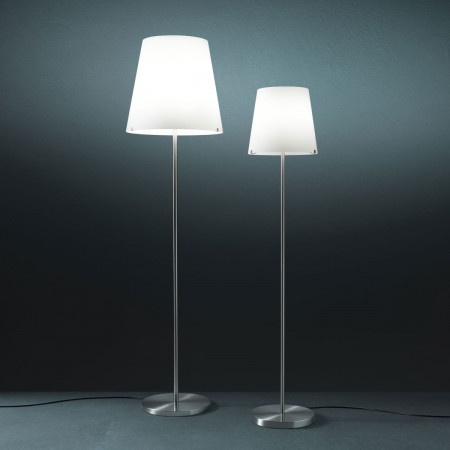 3247 Floor lamp diffuser in frosted white blown glass