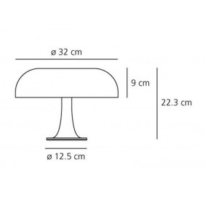 Artemide,Table, NESSINO