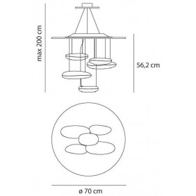 Artemide,Suspension, MERCURY MINI SUSPENSION