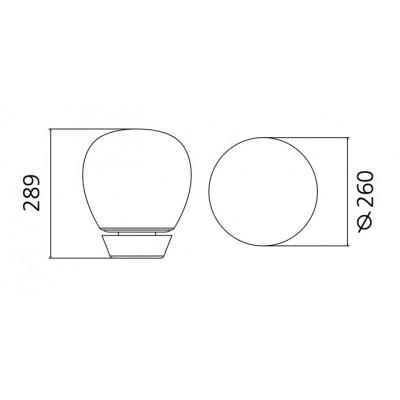 Artemide, EMPATIA 26 TABLE, Pour table
