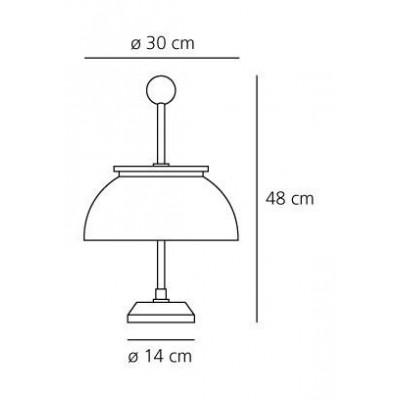 Artemide,Table, ALFA
