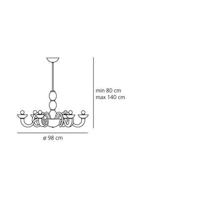 Artemide,Suspension, PANTALICA SUSPENSION