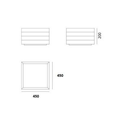 Artemide, GROUPAGE 45, Plafond