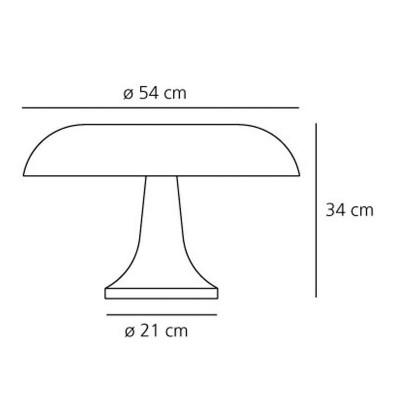 Artemide, NESSO, Da tavolo
