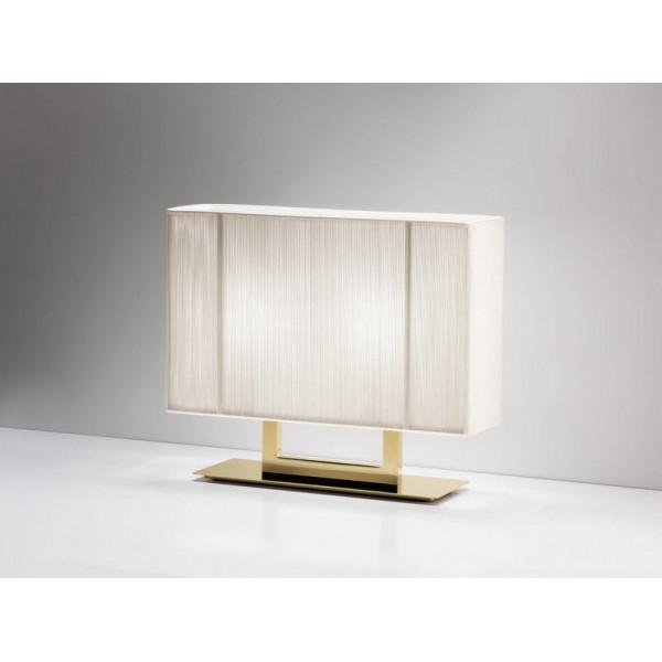 Lampe de table LT Clavius XP avec cadre doré