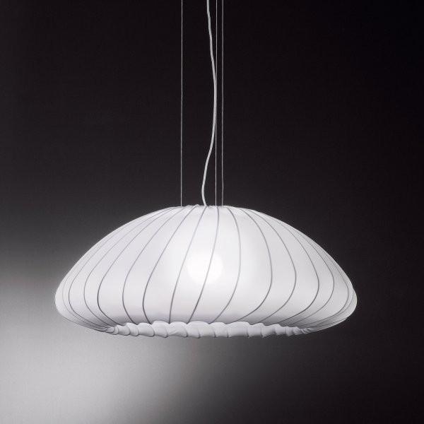SP Muse lampada a sospensione rivestimento in tessuto elasticizzato 116W E27