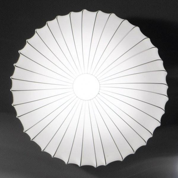 PL Muse 60 lampada da parete rivestimento in tessuto elasticizzato 42W E27